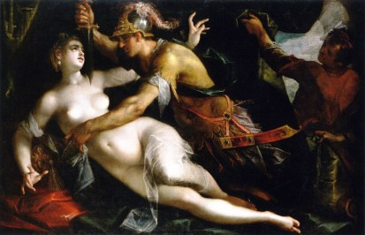 The-Rape-of-Lucretia-by-Hans-von-Aachen-German-1600