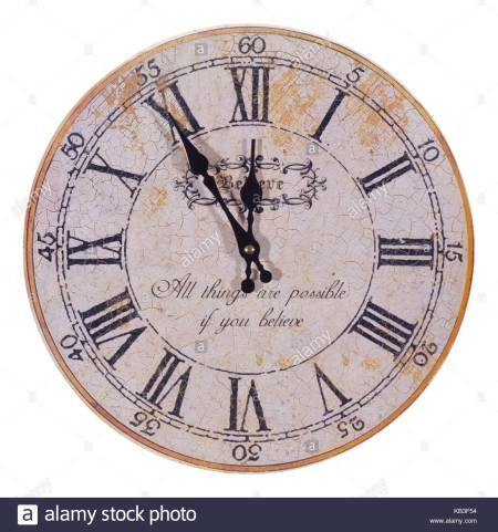 antique-clock-five-minutes-to-twelve-KB3F54